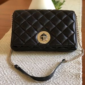 Kate Spade Gold Coast Meadow Quilted Purse, Black